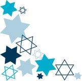 Estrela de David Fotografia de Stock Royalty Free