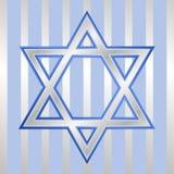 Estrela de David para Hanukkah Imagens de Stock Royalty Free