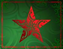 Estrela de Grunge Imagens de Stock Royalty Free