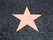Estrela de Hollywood Fotografia de Stock