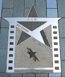 Estrela de Hong Kong Bruce Lee fotografia de stock royalty free