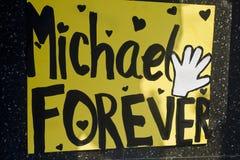 Estrela de Michael Jackson Fotos de Stock