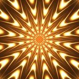 Estrela de néon Imagens de Stock
