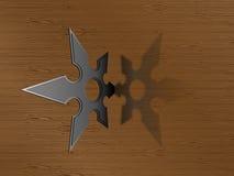 Estrela de Ninja Imagens de Stock