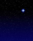 Estrela de noite fotografia de stock