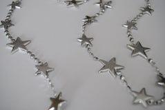 Estrela de prata Imagem de Stock Royalty Free