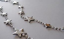 Estrela de prata Imagens de Stock Royalty Free