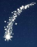 Estrela de tiro Foto de Stock