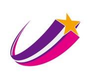 Estrela de tiro Imagens de Stock