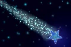 Estrela de tiro Fotografia de Stock Royalty Free