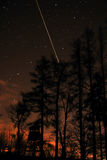 Estrela de tiro Foto de Stock Royalty Free