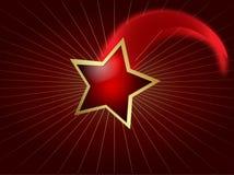 Estrela de tiro Imagem de Stock