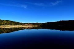 Estrela di Serra da - la valle fa il rossim Fotografie Stock Libere da Diritti
