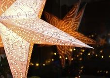Estrela do advento Foto de Stock