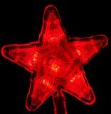 Estrela do ano novo Imagens de Stock