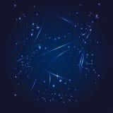 Estrela do brilho do whith do zodíaco do Sagitário Foto de Stock