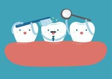 Estrela do dente bonito Imagem de Stock Royalty Free