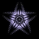 Estrela do Lilac Ilustração Stock