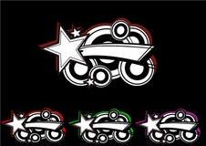 Estrela do logotipo imagens de stock royalty free