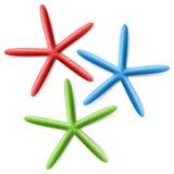 Estrela do mar do dedo Imagem de Stock Royalty Free