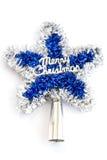 Estrela do Natal Imagem de Stock Royalty Free