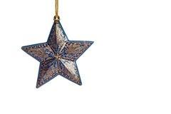 Estrela do Natal Fotos de Stock Royalty Free
