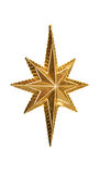 Estrela do Natal Imagens de Stock Royalty Free