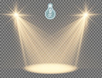 Estrela do Natal faísca mágica das estrelas - vetor conservado em estoque Fotografia de Stock Royalty Free