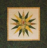 Estrela do norte acolchoada fotografia de stock royalty free