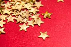 Estrela do ouro Fotos de Stock