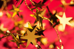 Estrela do ouro Imagem de Stock Royalty Free