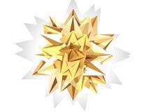 Estrela do presente do Natal Foto de Stock Royalty Free