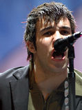 Estrela do rock Pete Wentz Fall Out Boy Foto de Stock Royalty Free