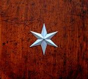 estrela do Seis-ponto Foto de Stock