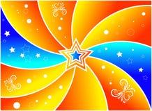 Estrela do verão ilustração royalty free