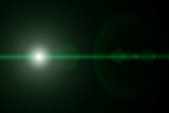 Estrela do vetor, sol com alargamento da lente Imagem de Stock