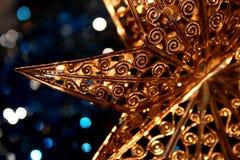 Estrela do Xmas imagens de stock