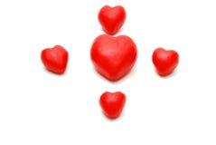Estrela dos corações Fotografia de Stock
