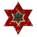 Estrela dos retalhos   Fotografia de Stock Royalty Free