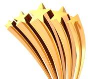 Estrela dourada Fotos de Stock