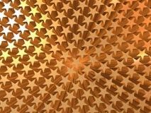 Estrela dourada Imagem de Stock