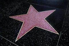 Estrela em branco Fotografia de Stock