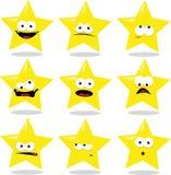 Estrela engraçada ilustração stock