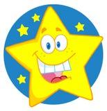 Estrela feliz Fotografia de Stock Royalty Free