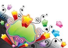 Estrela Funky Imagens de Stock
