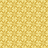 Estrela infinito do ouro da quadriculação Fotos de Stock