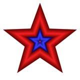 Estrela isolada ilustração royalty free