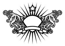 Estrela luxuosa Imagens de Stock Royalty Free