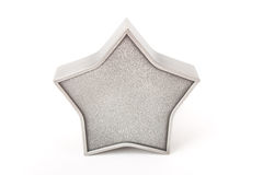 Estrela metálica Fotografia de Stock