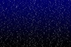 Estrela no céu escuro ilustração do vetor